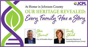 At Home in Johnson County: Our Heritage Revealed: Every Family Has a Story