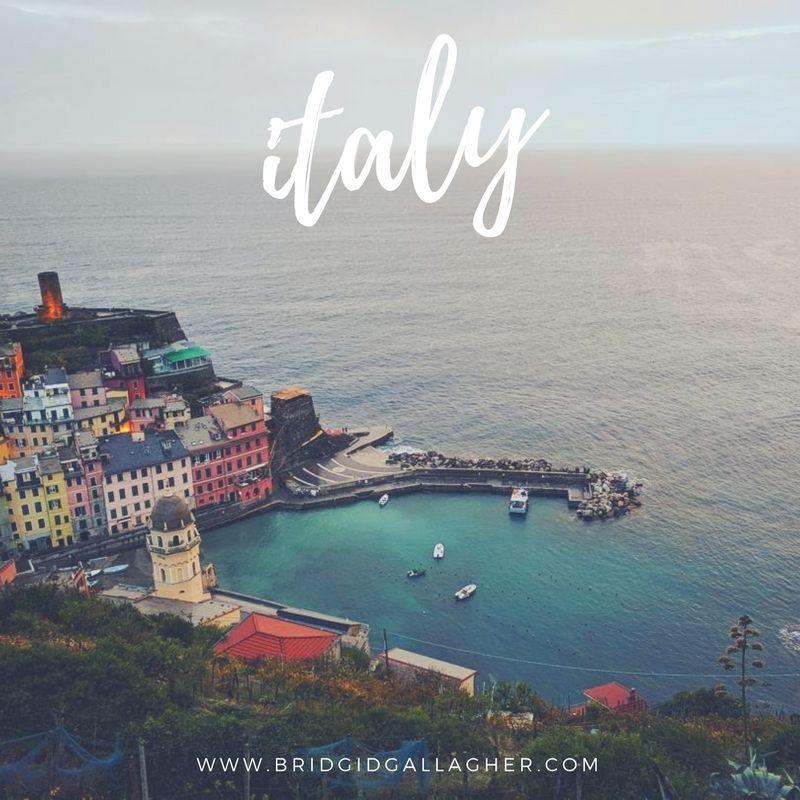 Cinque Terre in Italy // www.bridgidgallagher.com