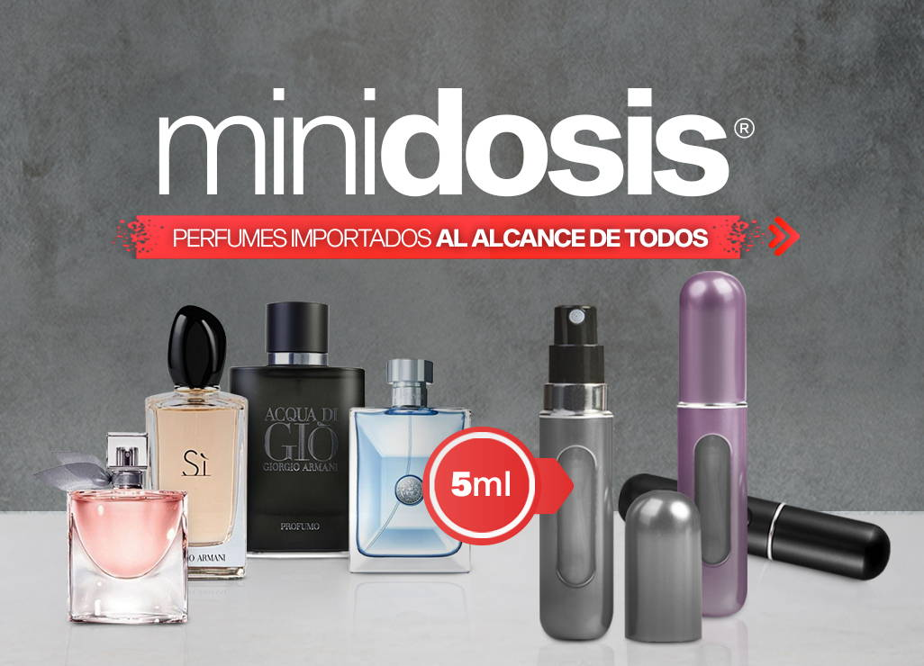 Mini Dosis por Club de Fragancias, decants de perfumes importados de hombre