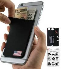 phone wallet USA Flag by gecko travel tech