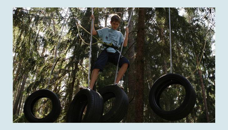 bester geburtstagde kletterwald weiherhof kind reifen seil baum