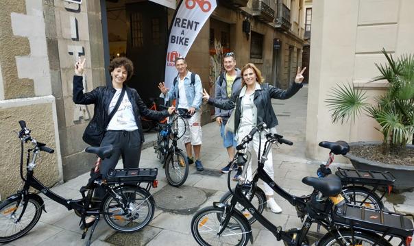 Велотур и пешая прогулка по Барселоне