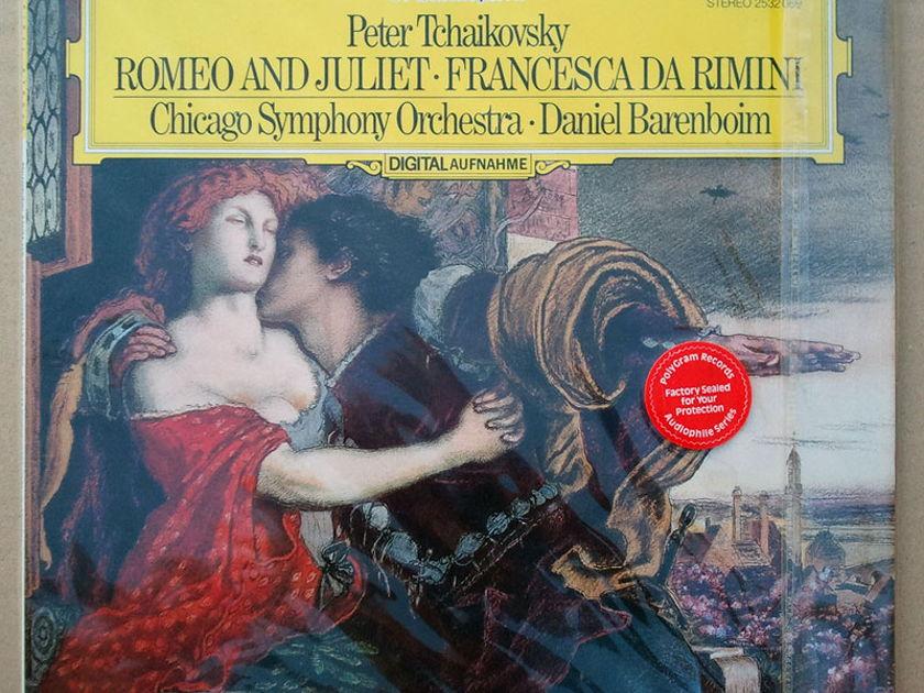 SEALED DG Digital   BARENBOIM/TCHAIKOVSKY - Romeo & Juliet, Francesca da Rimini