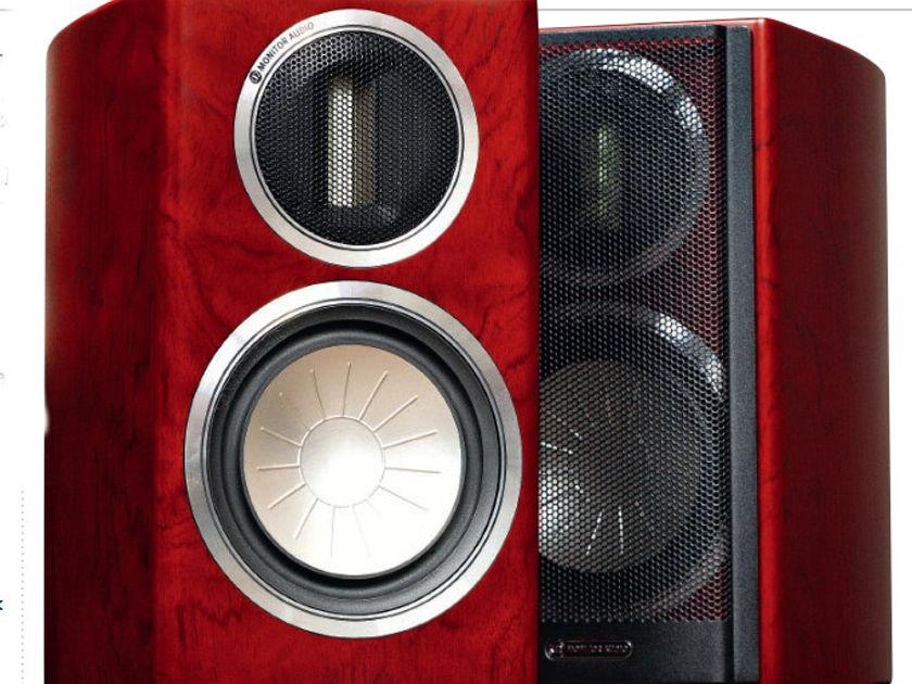 Monitor Audio Gold GX50 Monitor in Beautiful Bubinga Wood