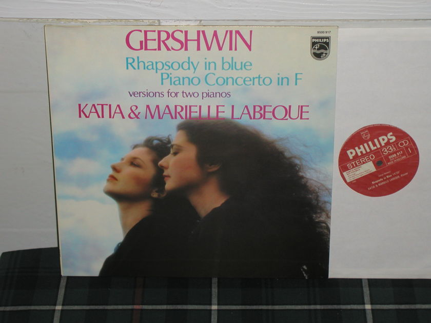 Labeque - Gershwin Philips Import LP 9500