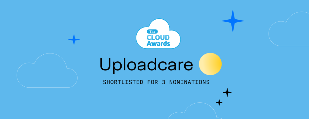 Uploadcare Gets Shortlisted at The Cloud Awards 2020-2021