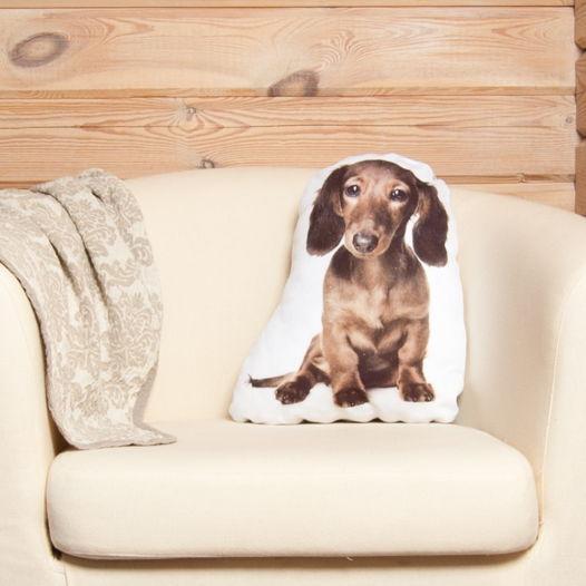 Подушка в виде собаки Такса