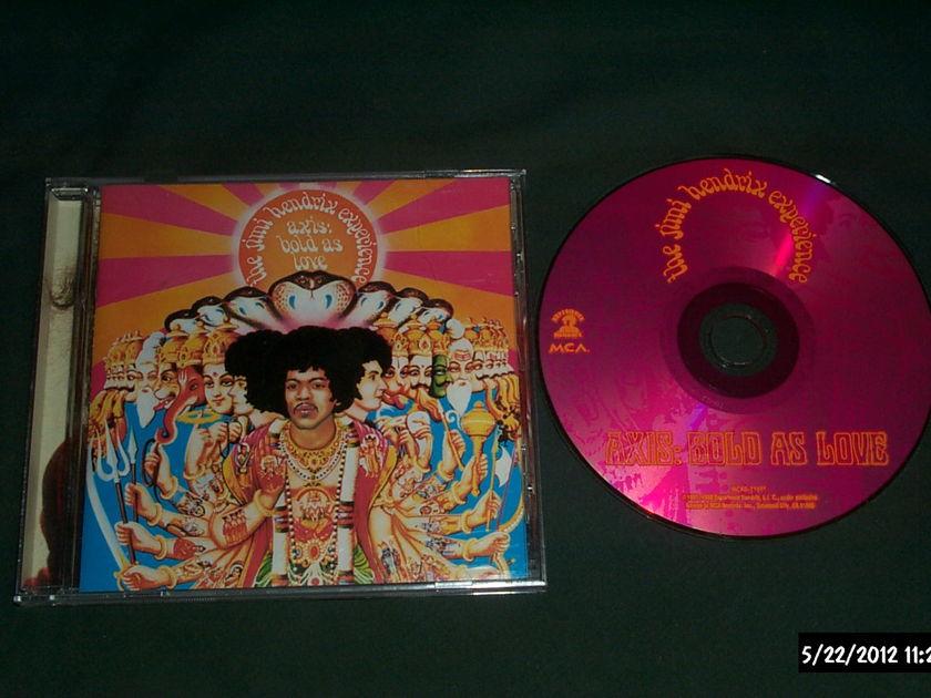 Jimi Hendrix - Axis:Bold As Love CD NM