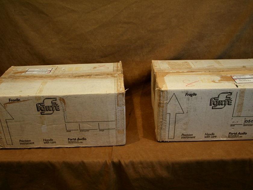 Forte  Model 7  Class A Mono Blocks (x2)