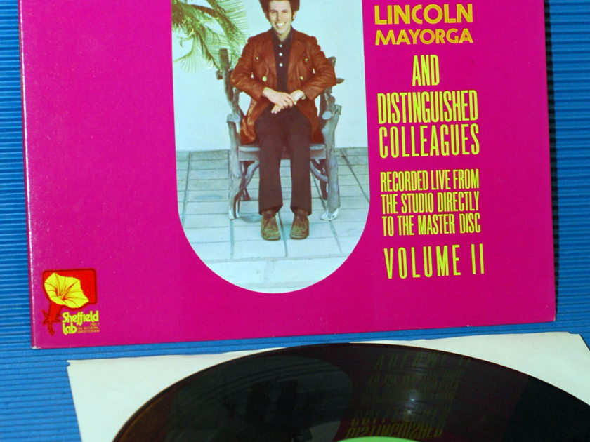 """LINCOLN MAYORGA -  - """"The Missing Linc"""" - Sheffiled Labs D-D 1979"""