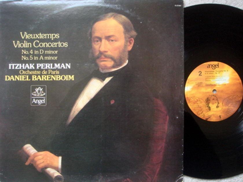 EMI Angel / PERLMAN, - Vieuxtemps Violin Concertos No.4 & 5, NM!
