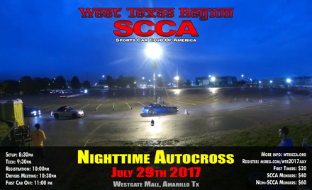 West Texas Region SCCA - July 2017 Event