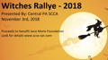 2018 SCCA-CPR Witches Rallye