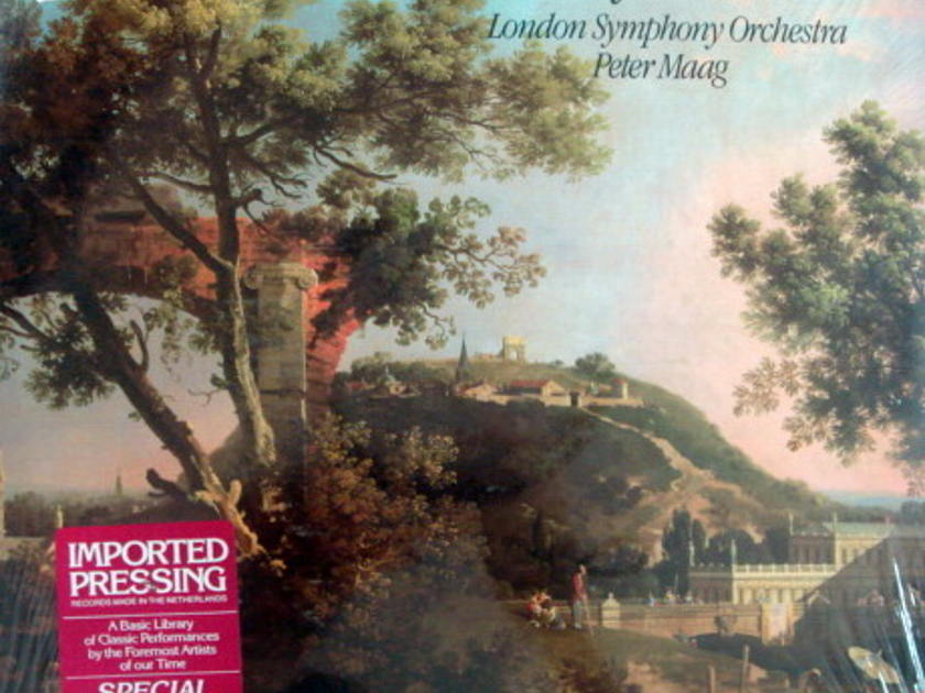 ★Sealed★ London-Decca /  - TUCKWELL-MAAG, Mozart 4 Horn Concertos!