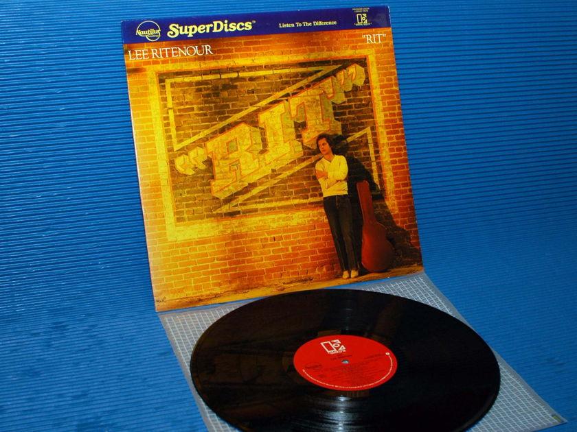 """LEE RITENOUR  - """"Rit"""" -  Nautilus Super Disc 1981"""