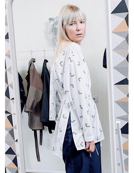 Рубашка VODA с поясом