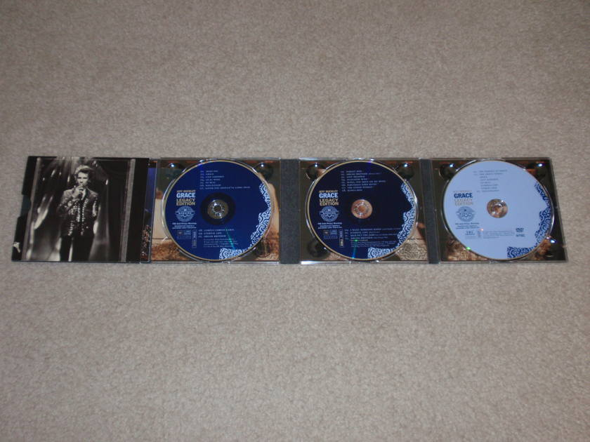 Jeff Buckley - Grace-Legacy edition 2 cd's + dvd