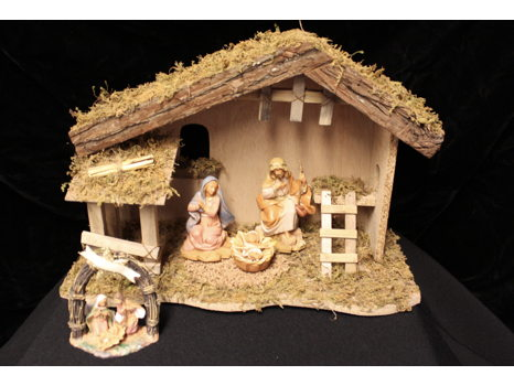Fontanini Nativity Set Signed by Emanuele Fontanini