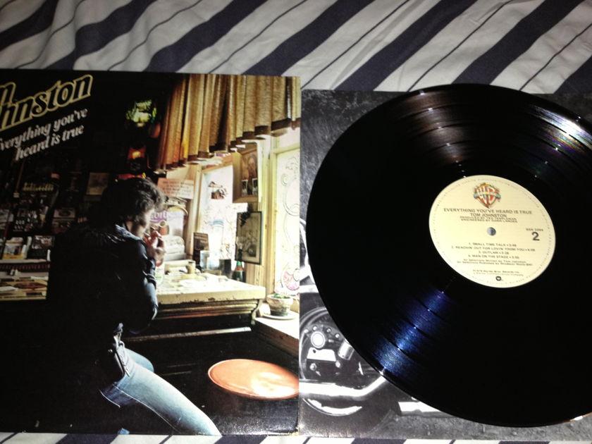 Tom Johnston(Doobie Brothers) - Everything You've Heard Is True LP NM