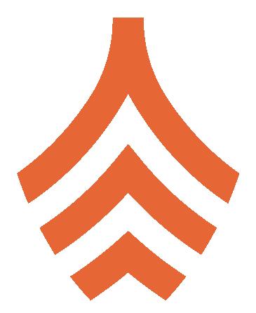 Gondola mark horizontal orange