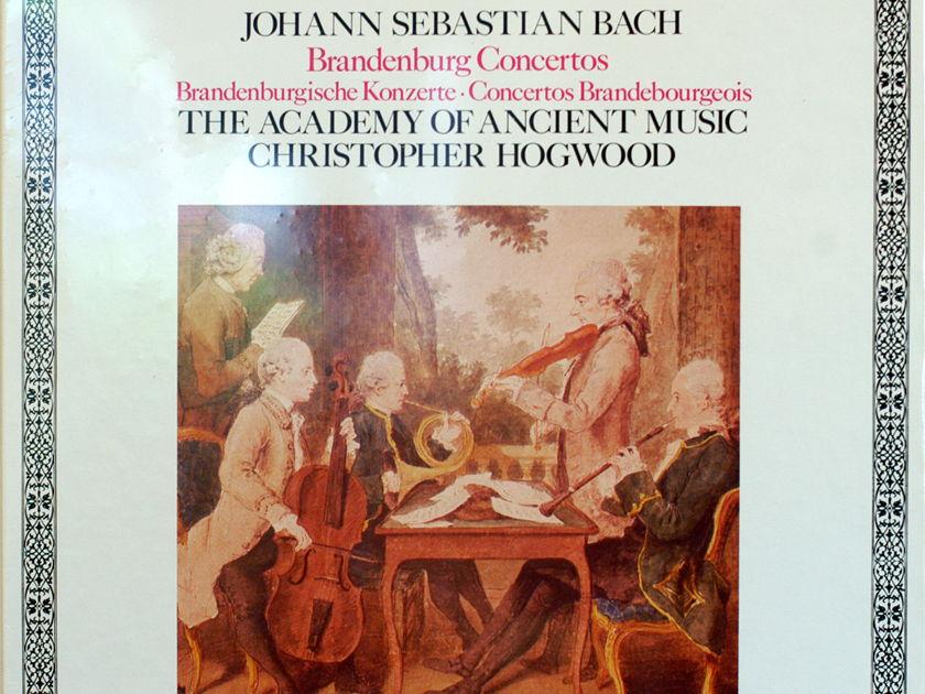 BACH Brandenburg concertos - Cristopher Hogwood Sealed 2-lp Loiseau-Lyre