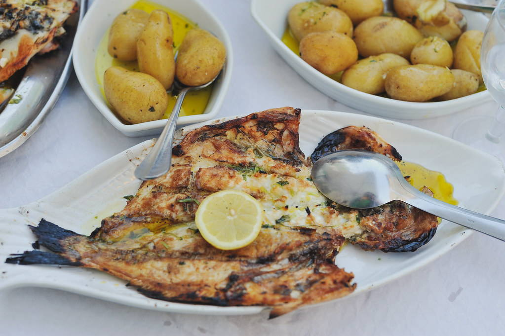 Our team picks grilled fish in Matosinhos as one of the local foods to try in Porto.