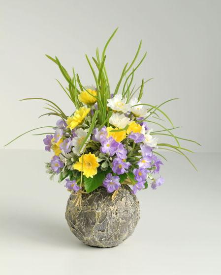 Цветочная композиция  Весенние цветы