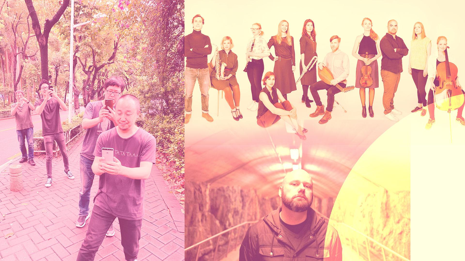 FEN/Lasse Marhaug/Ensemble neoN – Fractured times. A Reunion of Strangers. thumbnail