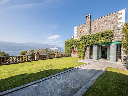 Villa Alessi on Lake Maggiore is for sale with Engel & Völkers