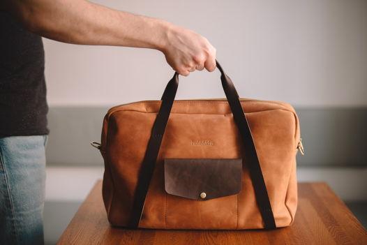 """Кожаный портфель torden ( 15"""")"""