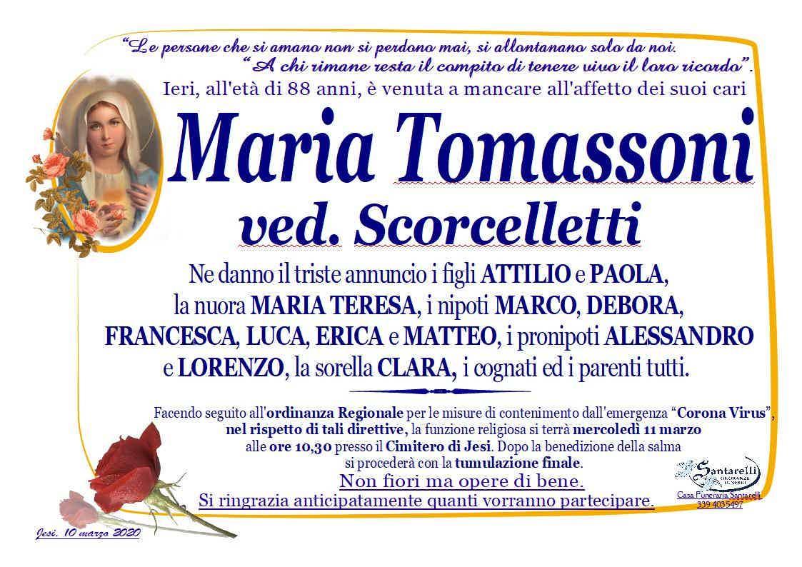 Maria Tomassoni