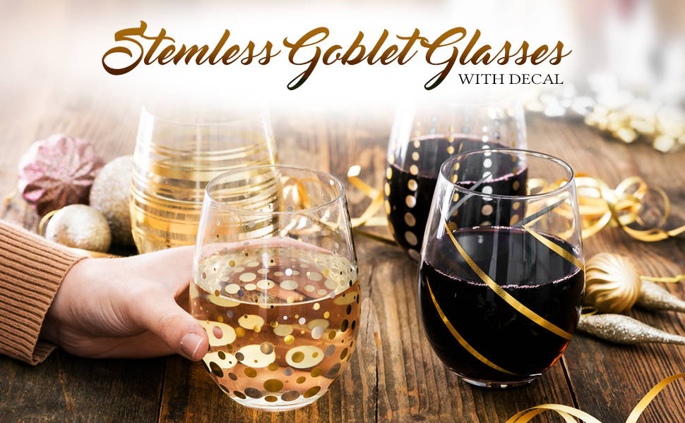 Steamless Goblet Glasses