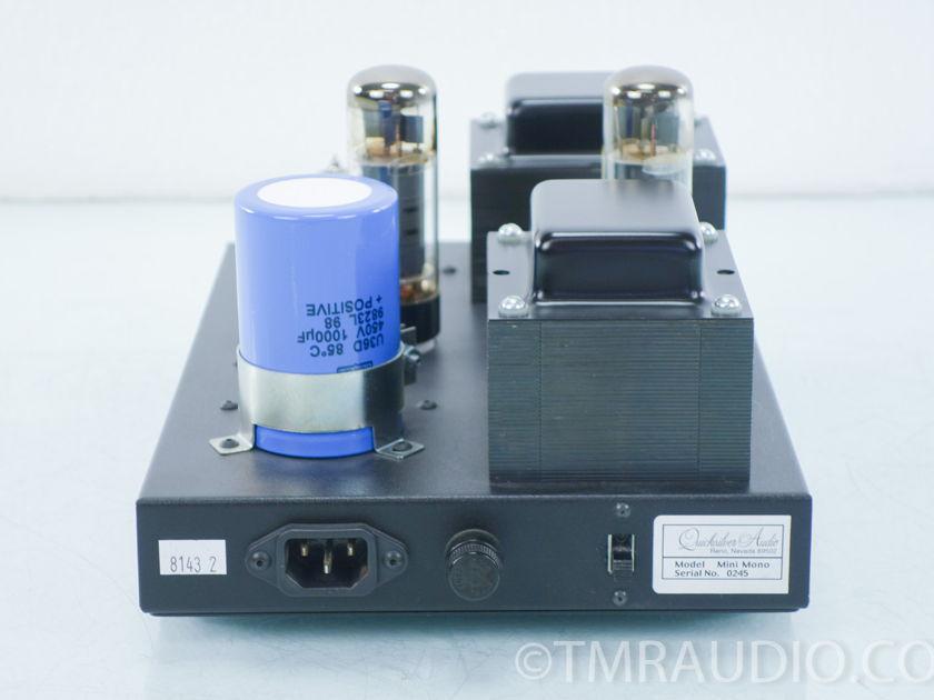 Quicksilver Audio  Mini Mono Tube Amplifiers;   Pair (8143)