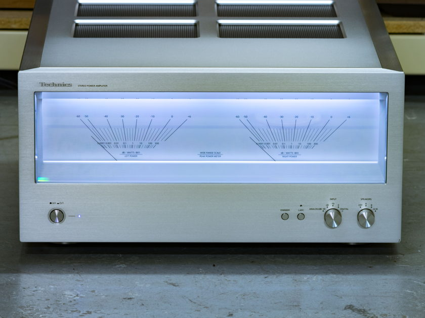 technics se r1 power amplifier solid state audiogon. Black Bedroom Furniture Sets. Home Design Ideas