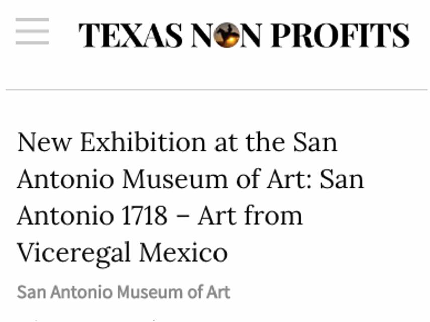 TX Non Profit, 1718