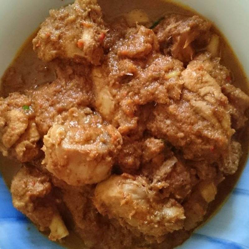 Hi Grace, tried cooking chicken rendang using your recipe today, here's te pic.