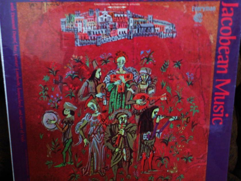 FACTORY SEALED ~ ALFRED DELLER ~  - SINGS ELIZABETHEAN AND JACOBEAN MUSIC~DUPRE/LUTE~LEONHARDT/HARPSICHORD ~  VANGUARD SRV 306 D (1971)