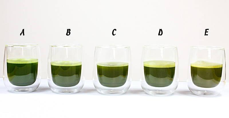 Ceremonial matcha vs culinary matcha tea comparing grades of matcha tea in the cup