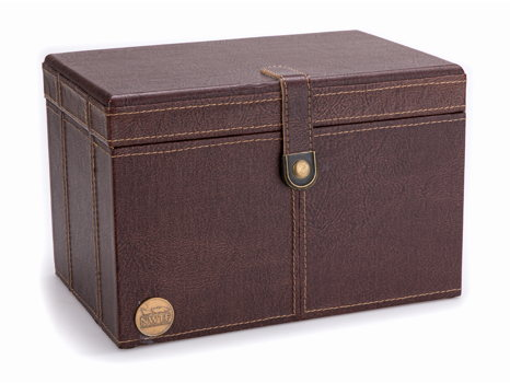Faux Leather Trinket Box