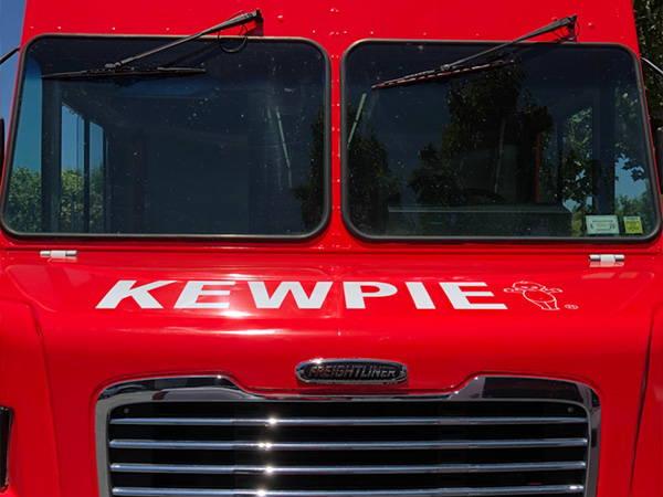 Kewpie food truck front view