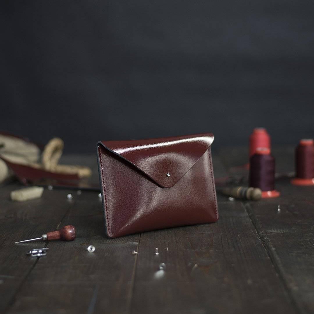 Brown Mini Leather Clutch Bags