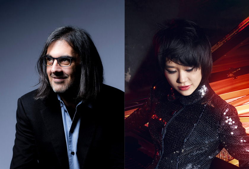 Colburn Celebrity Recital: Leonidas Kavakos and Yuja Wang artwork