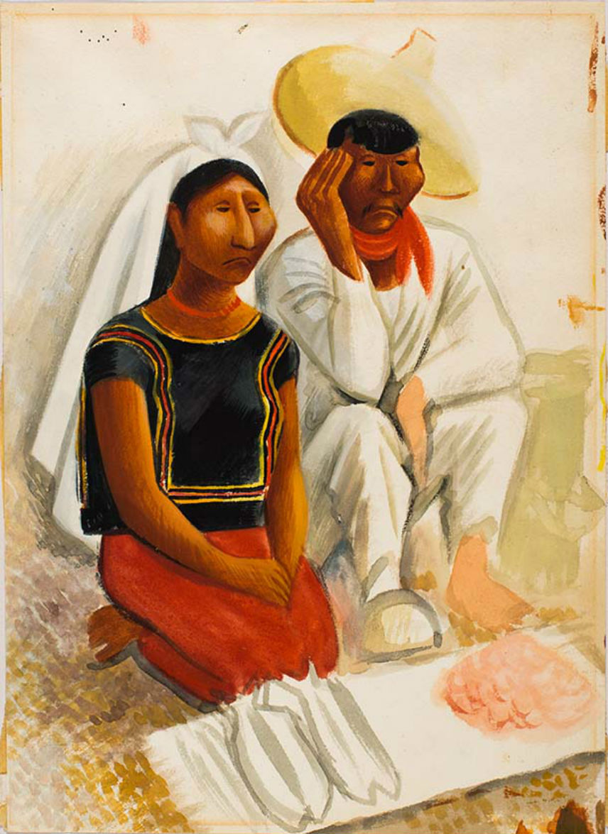 Indigenous Mexican Couple