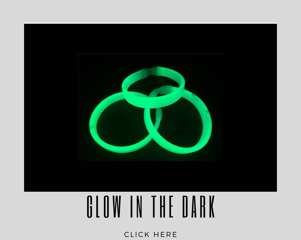 Corporate Custom Glow in the Dark Wristband