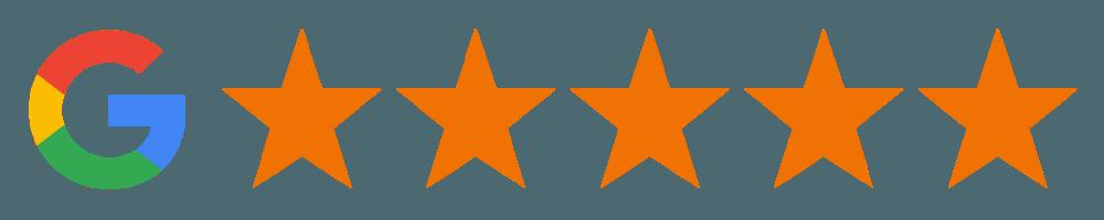 Google 5-Star Rating