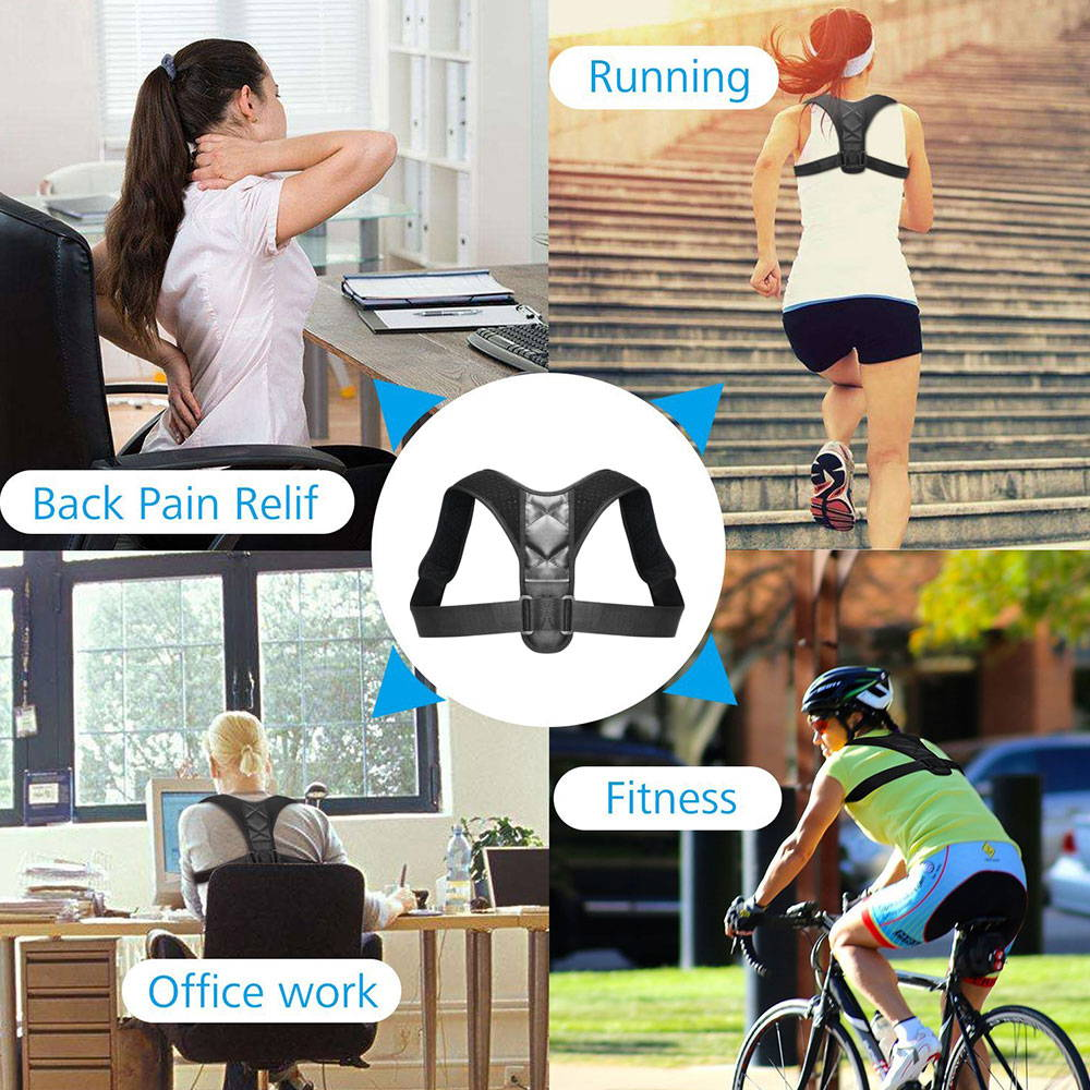 posture corrector for work, fitness, running and back pain issues