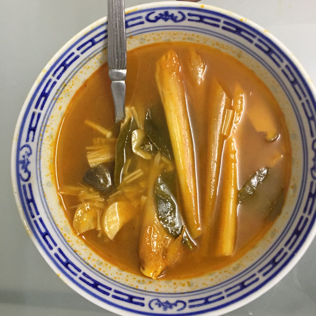 March 15th, 20 - Simple tom yum soup.