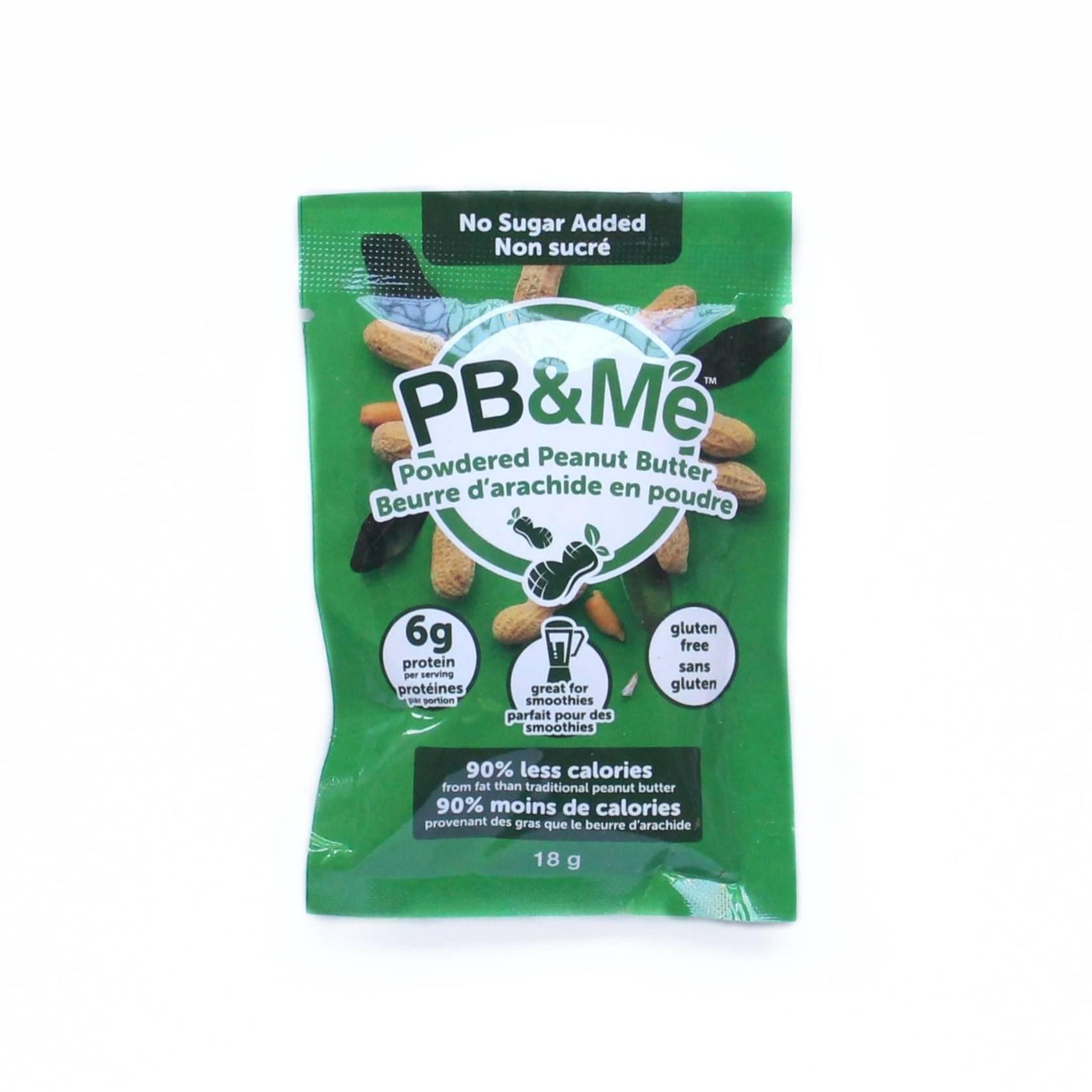 PB&ME beurre arachide poudre sans sucre