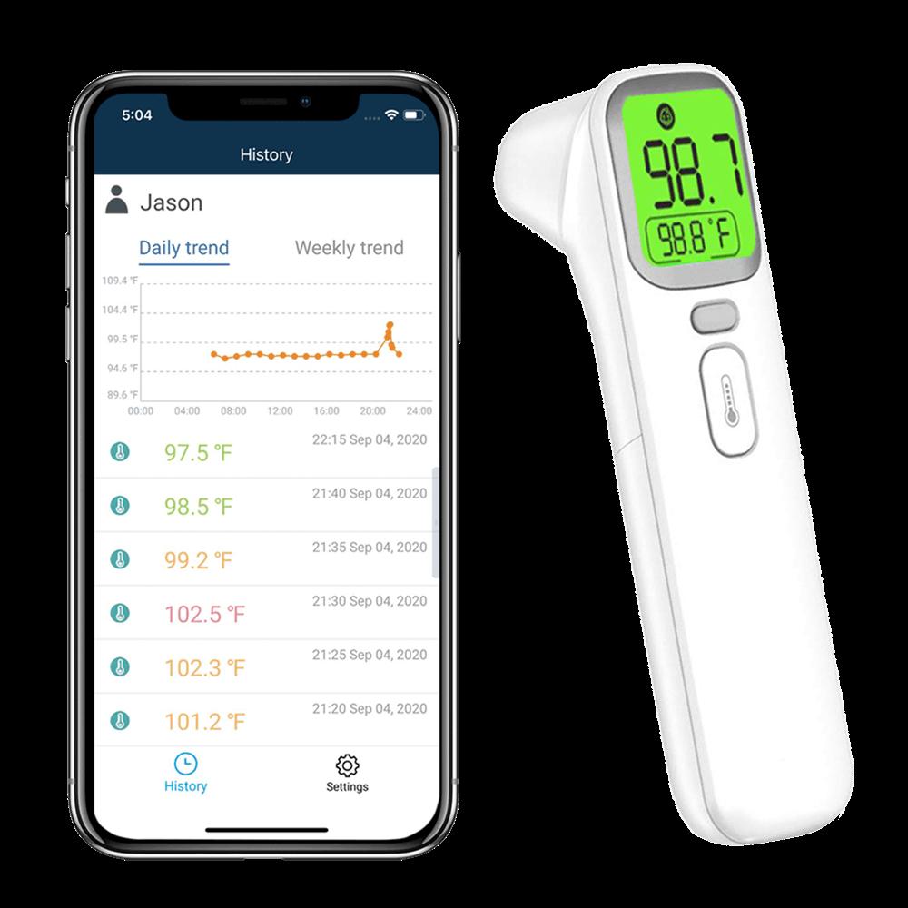 wellue جهاز قياس ضغط الدم في أعلى الذراع