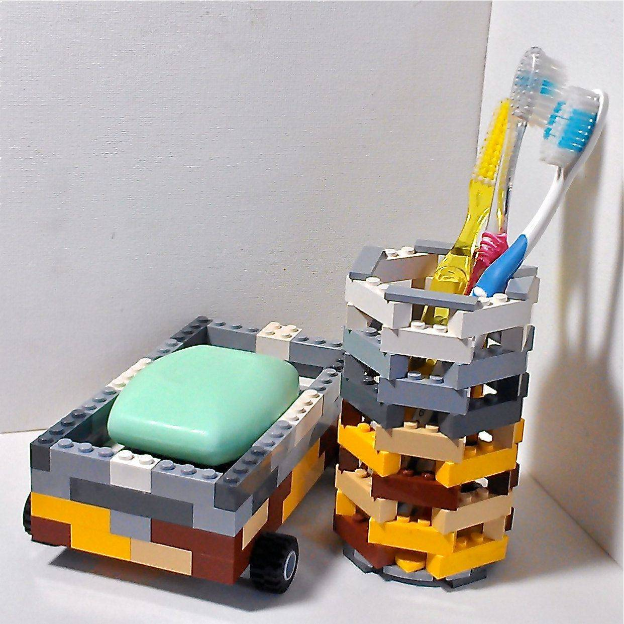 LEGO Toothbrush and Soap
